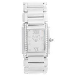 Patek Philippe Twenty-4 Ladies Steel and Diamond Watch 4910/10