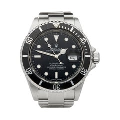 Rolex Submariner Date Stainless Steel 16610 Wristwatch