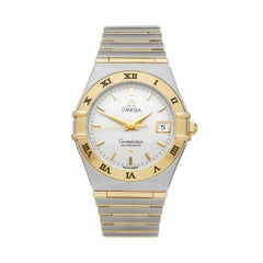 Omega Constellation Stainless Steel and 18K Yellow Gold 1292300 Wristwatch