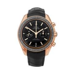Omega Speedmaster Moon Watch 18K Rose Gold 31163445101001 Wristwatch