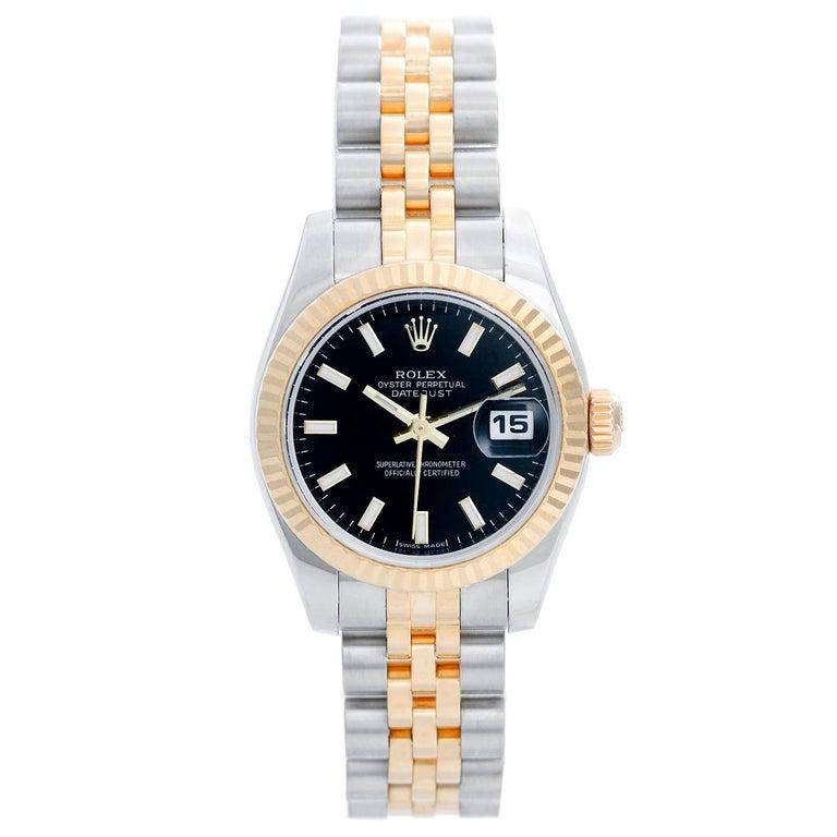 Rolex Ladies Datejust 2-Tone Jubilee Watch 179173 For Sale
