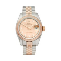 Rolex Datejust 26 Stainless Steel and 18 Carat Rose Gold 179171