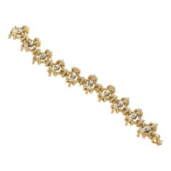 Estate Italian Designer 18 Karat Gold 4 Carat Diamond 93 Grams