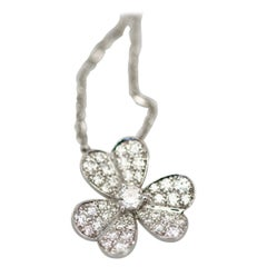 Van Cleef & Arpels Diamond Frivole Pendant Small