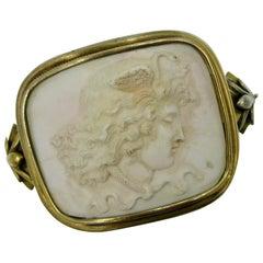 Medusa Coral Bracelet Antique Victorian Neoclassical Swan Snake 18 Karat Gold