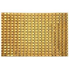 18 Karat Yellow Gold Wide Bracelet