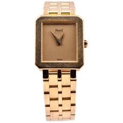 Piaget 18 Karat Yellow Gold Protocol Quartz Watch Ref. 5354 M601D
