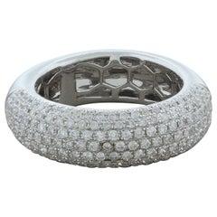 Diamond Gold Pavé Set Band Ring