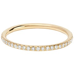 Ileana Makri 18k gold Diamond Eternity Thread Ring