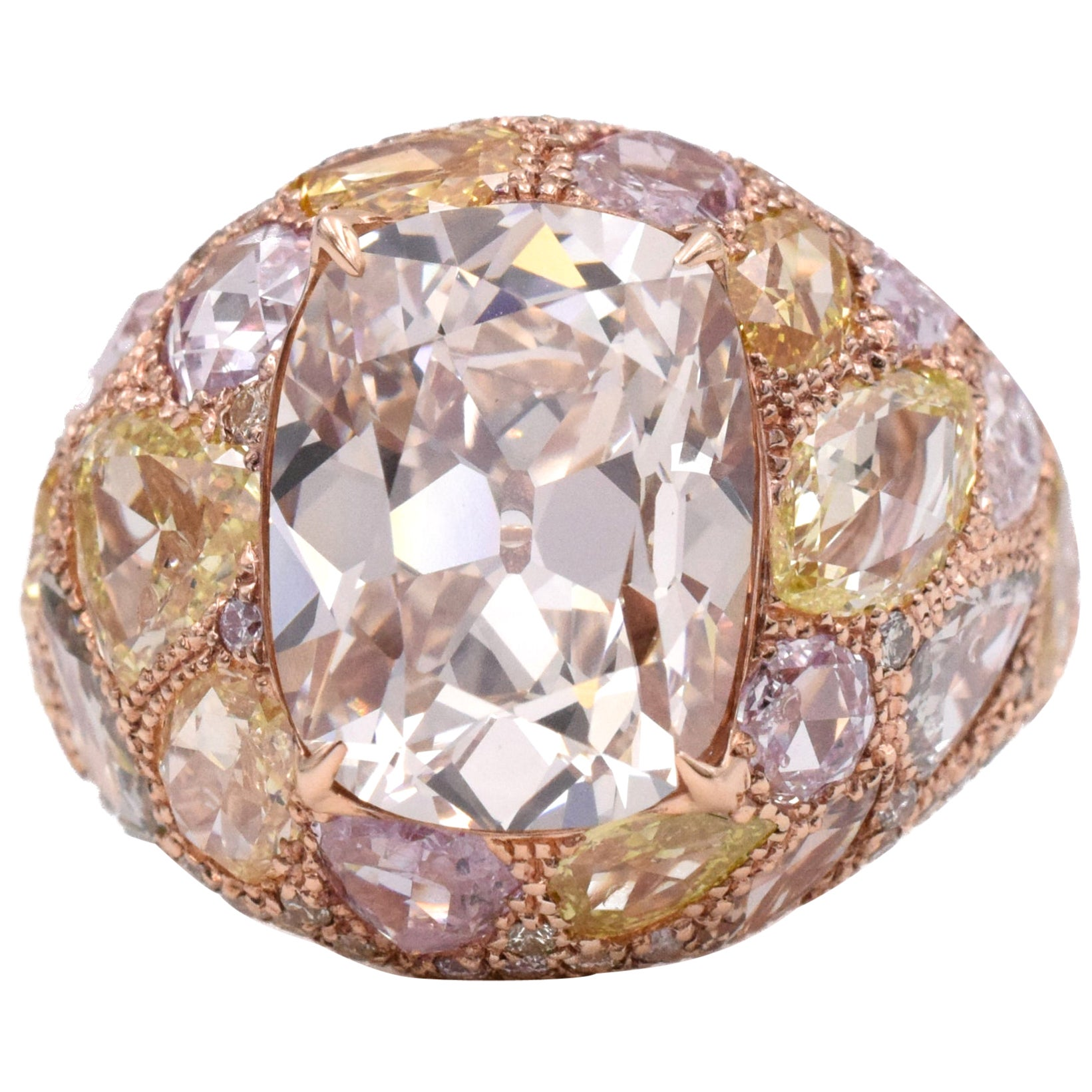 NALLY Vintage Color Diamond Ring