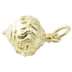 14 Karat Yellow Gold Christmas Ornament Charm