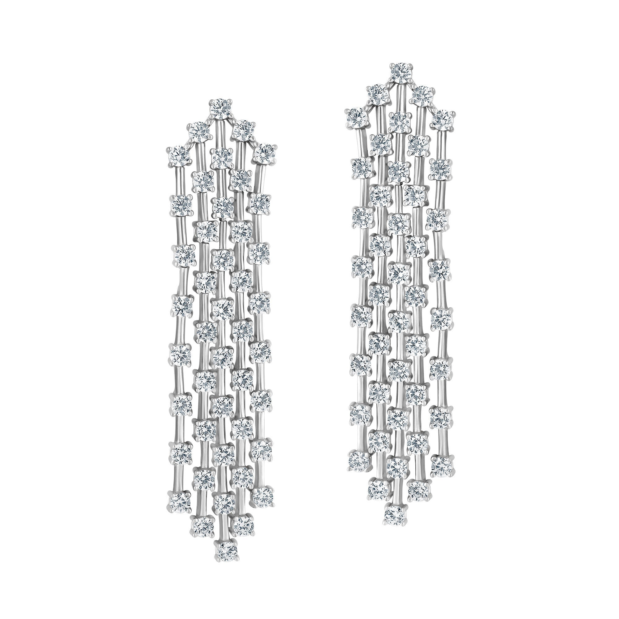 Emilio Jewelry 6.20 Carat Diamond Earrings
