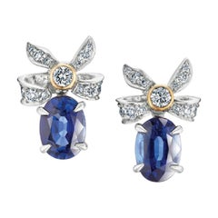 Fabergé Imperial Collection Alix Blue Sapphire Earrings