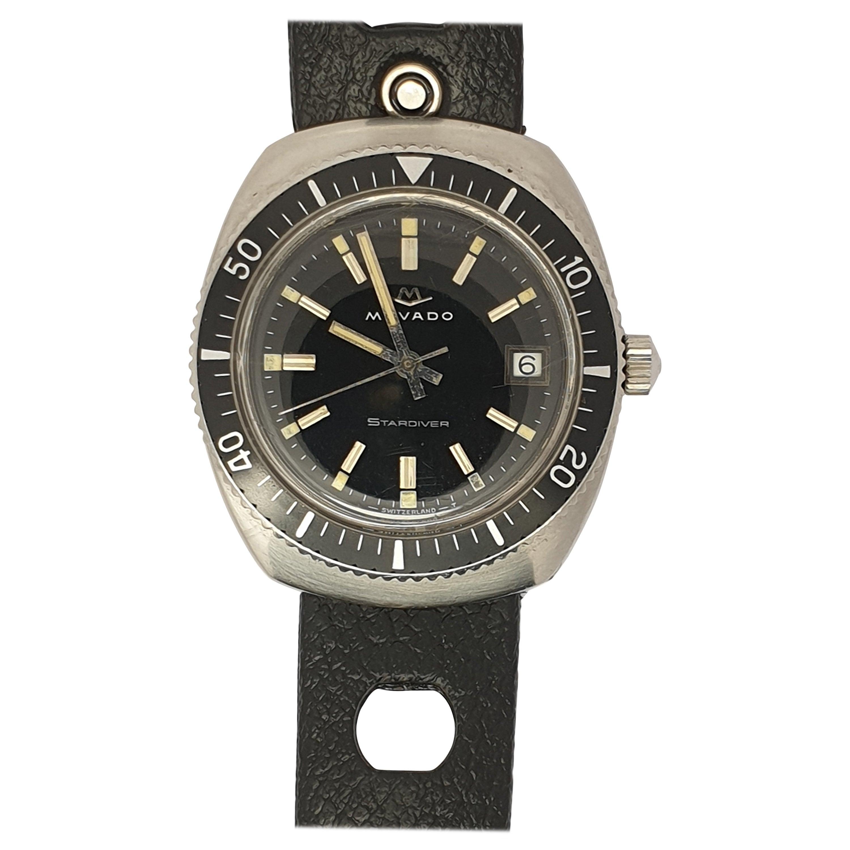 Vintage Movado Stardiver Watch