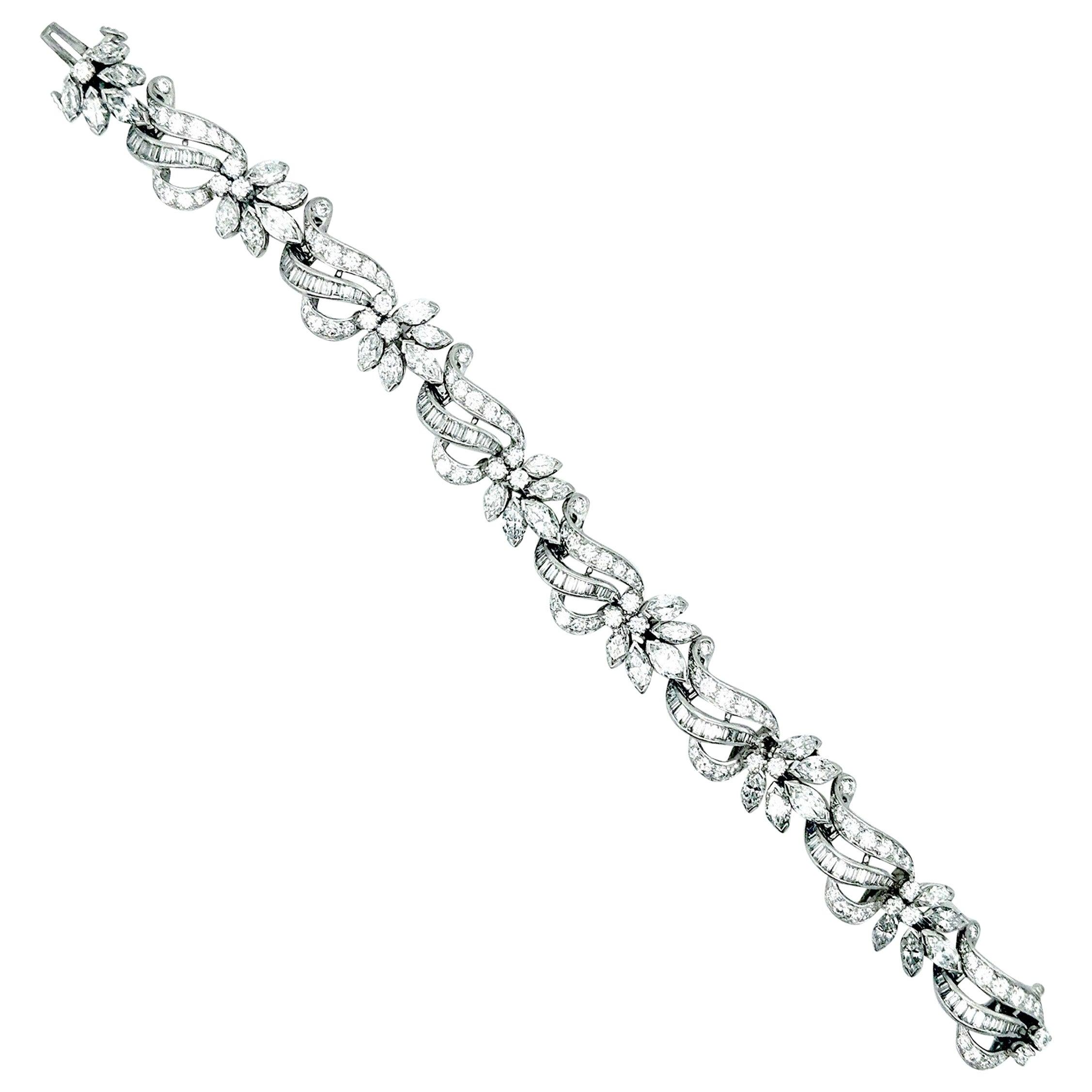 Diamond Bracelet, circa 1960s