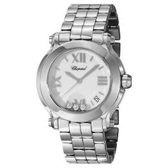 Chopard Happy Sport Ladies Diamond Watch 278477-3013
