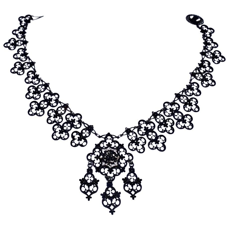 Antique Berlin Iron Necklace