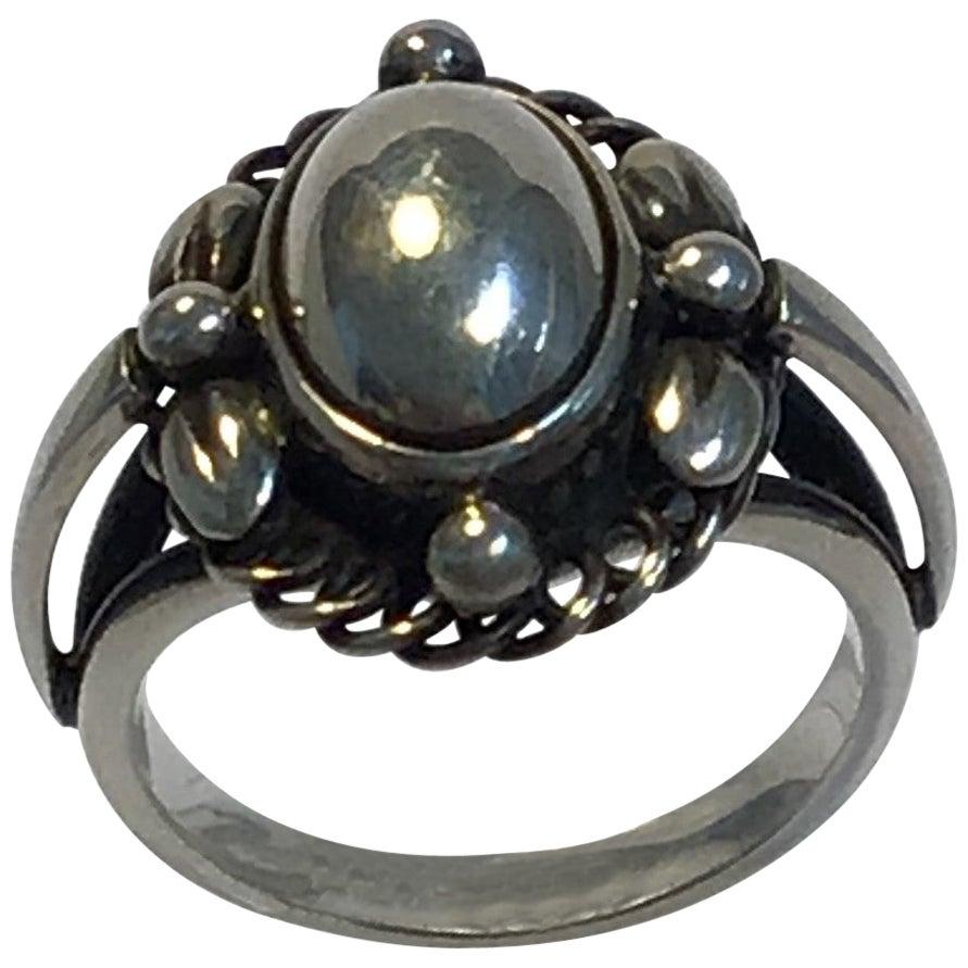 Georg Jensen Sterling Silver Ring No 1A