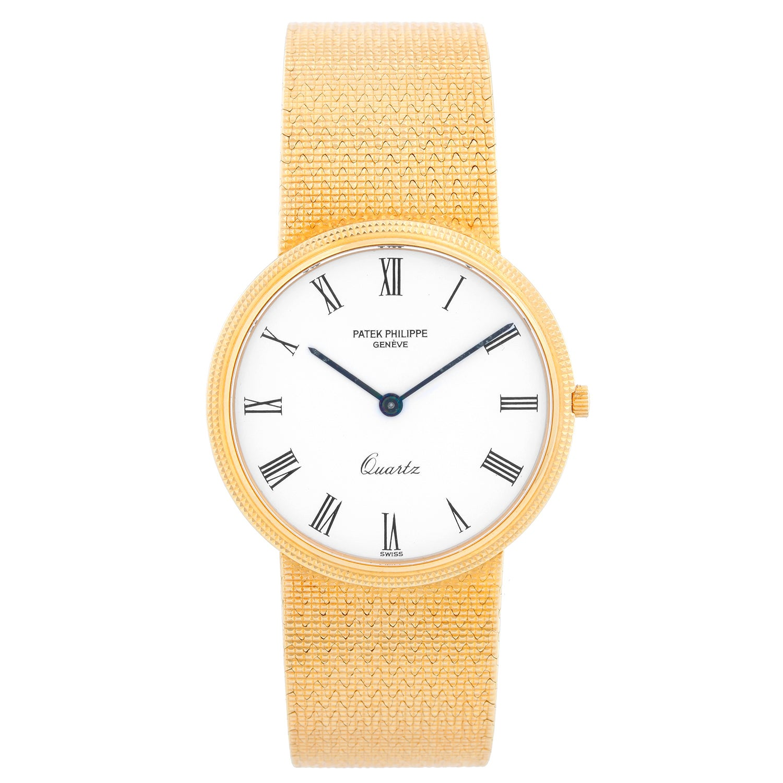 Patek Philippe Calatrava Yellow Gold Men's Watch Ref. 3744/1
