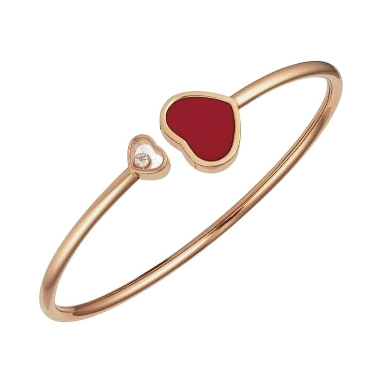 Chopard Happy Hearts Bangle 857482-5703 For Sale