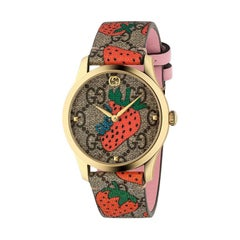 Gucci G-Timeless Strawberry Watch YA1264133