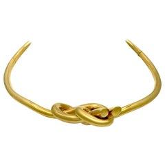 18 Karat Yellow Gold Gucci Necklace