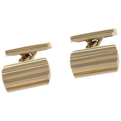 Tiffany & Co. 1950s Gold Cuff Links