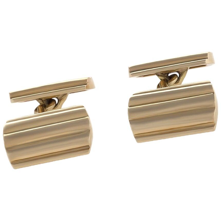 Tiffany & Co. 1950s Gold Cuff Links