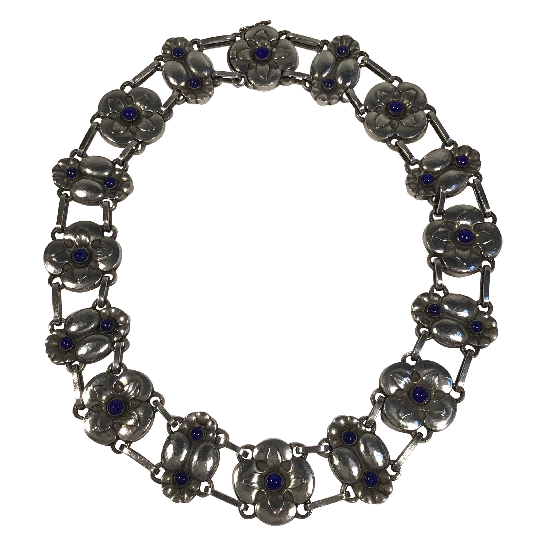Georg Jensen Sterling Silver Necklace No 25