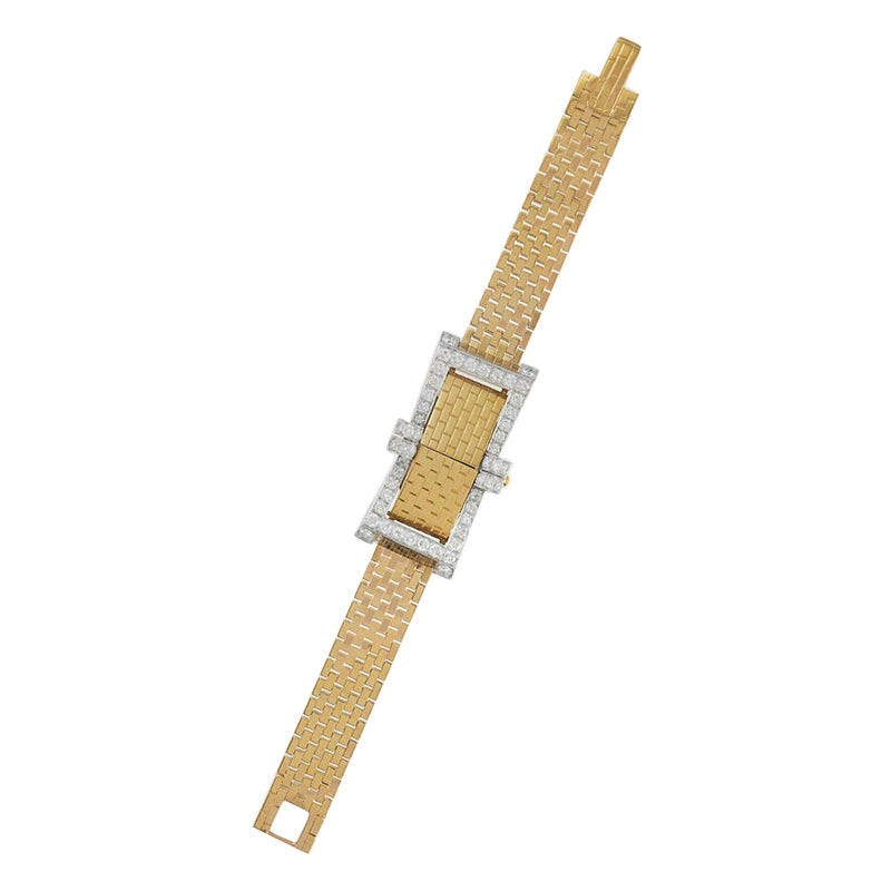 Van Cleef & Arpels Retro Mystery Watch/Bracelet