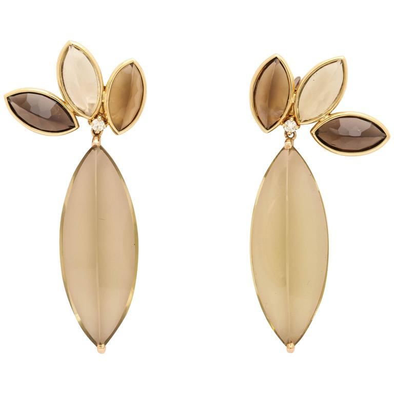 Faraone mennella couture giardino di gioie earrings for for Giardino 54 nyc