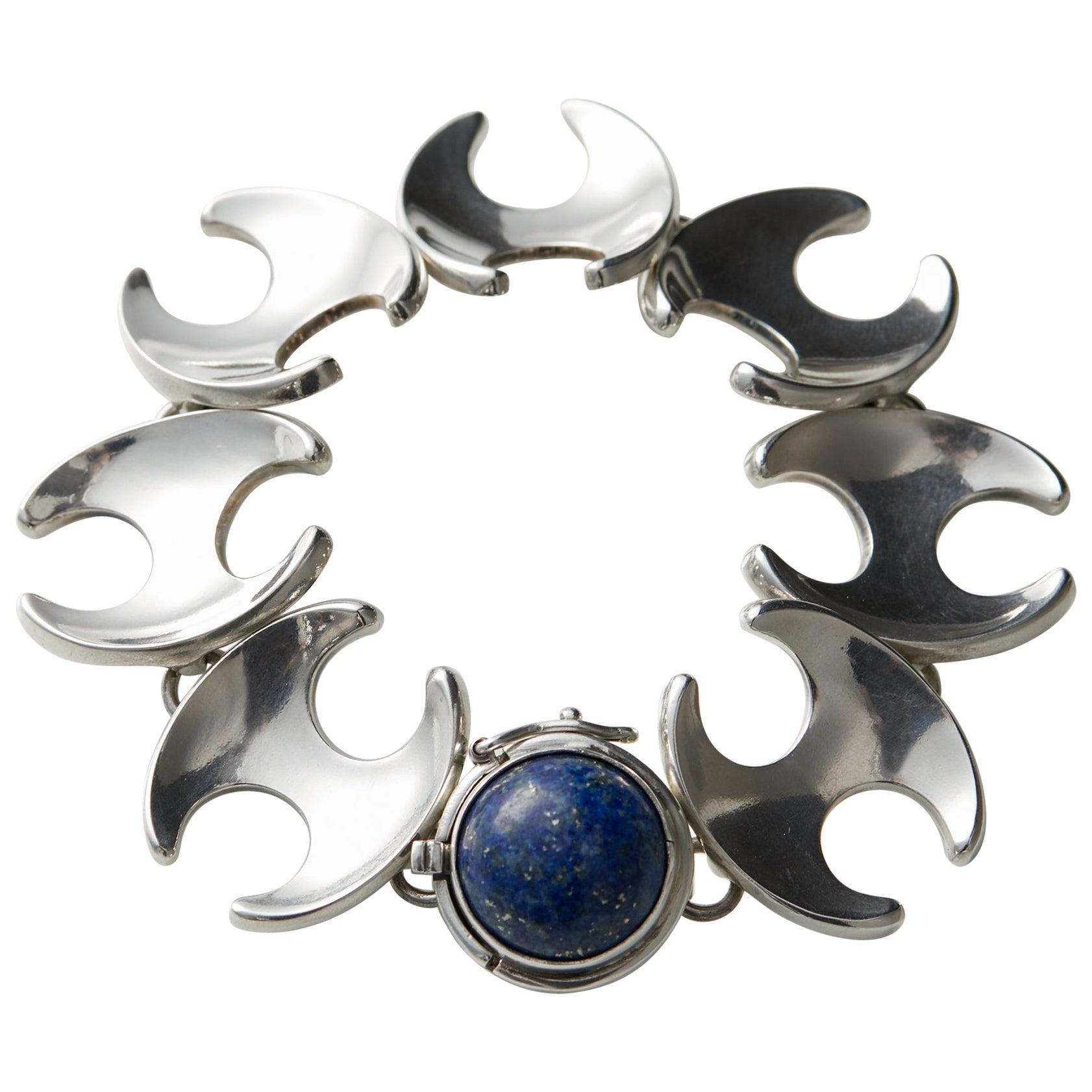 Bracelet Designed by Henning Koppel for Georg Jensen, Denmark, 1940s