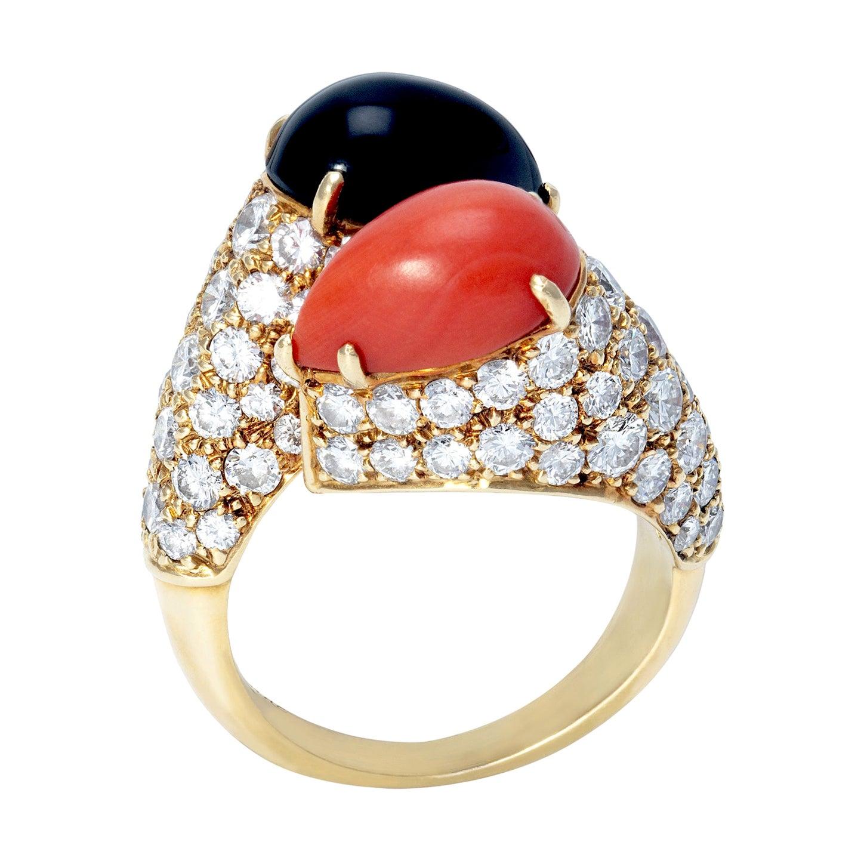 """Cartier """"Toi & Moi"""" Ring"""