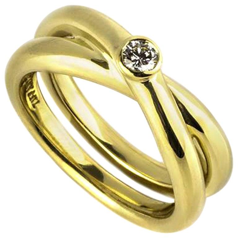 Tiffany & Co. Paloma Picasso Diamond Ring