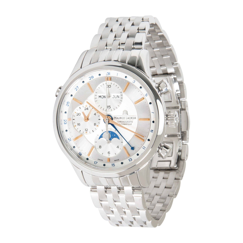 Maurice Lacroix Les Classiques Phase de Lune LC6078-SS002-13E Men's Watch