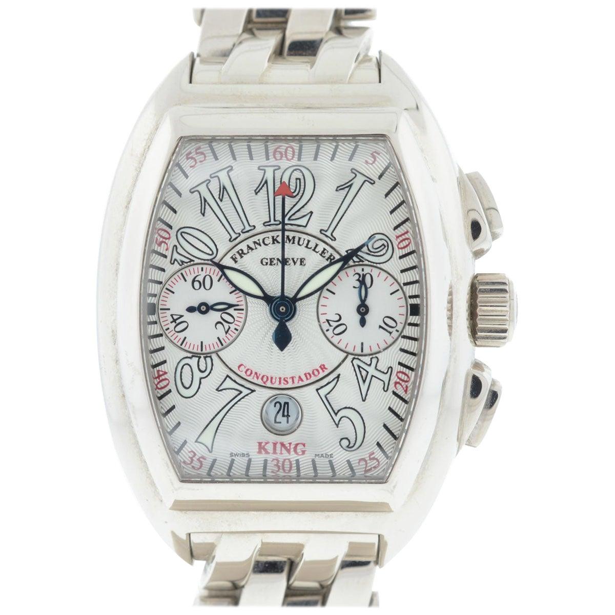 Franck Muller 18 Karat Gold Conquistador 8005 CC King No 16 Automatic Watch