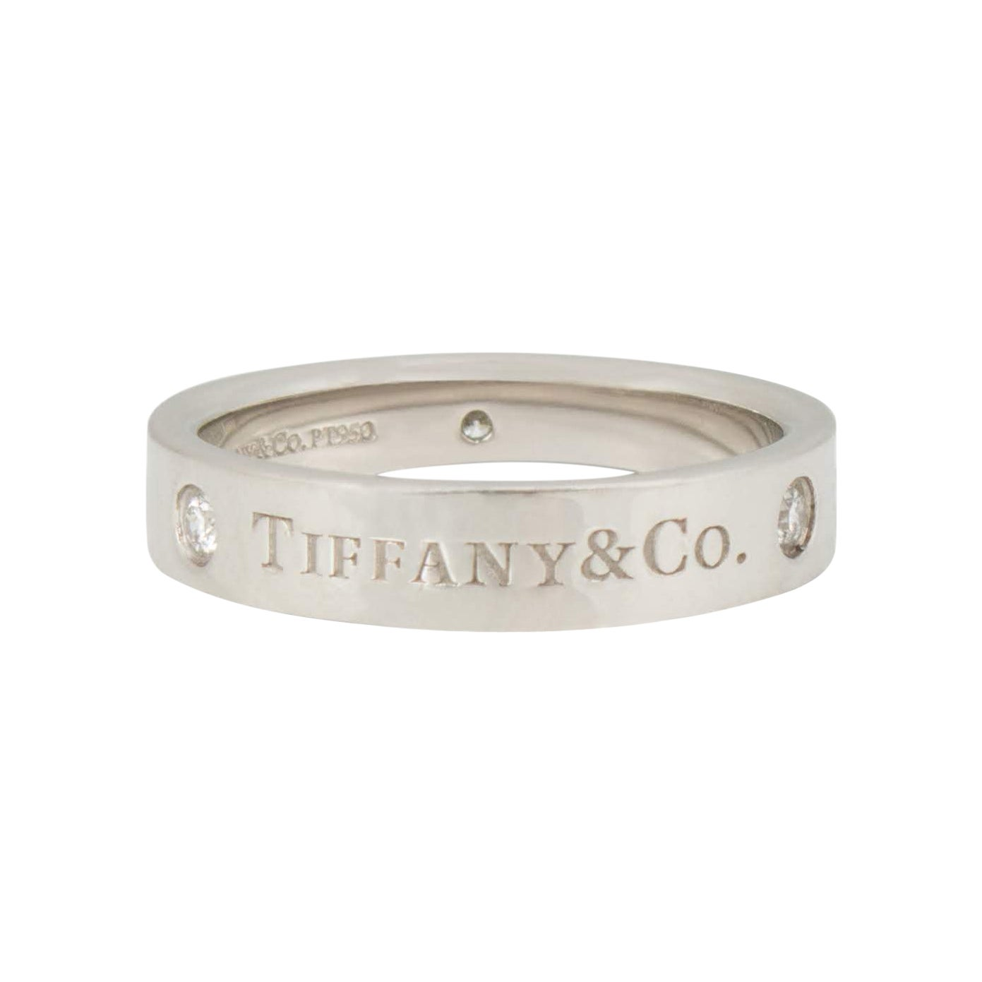 Tiffany & Co. Platinum Diamond Ring