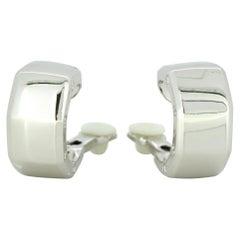Audemars Piguet 18 Karat White Gold Ladies Clip-On Earrings with Diamonds