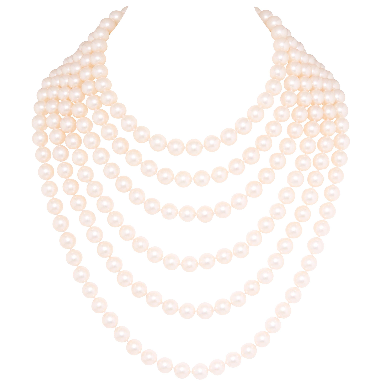 Ella Gafter Japanese Pearl Necklace