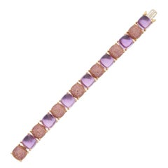 Tiffany & Co. Sugar Stacks Amethyst Bracelet