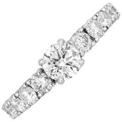 Jacob & Co. 0.45 Carat Diamond Gold Engagement Ring