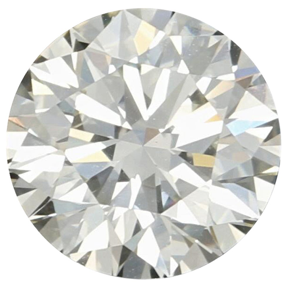 2.57 Carat Loose Diamond Round Brilliant Cut GIA Graded Excellent VVS2 Solitaire