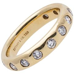 Tiffany & Co. Diamond Gold Wedding Ring