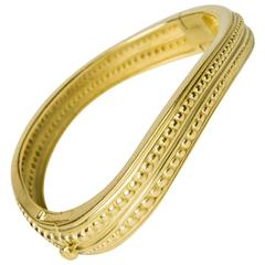 Kieselstein-Cord Gold Bangle Bracelet