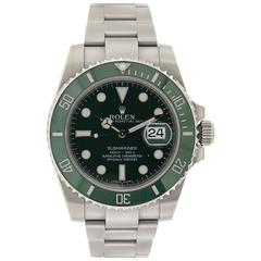 Rolex Stainless Steel OP Submariner Automatic Wristwatch Ref 116610V