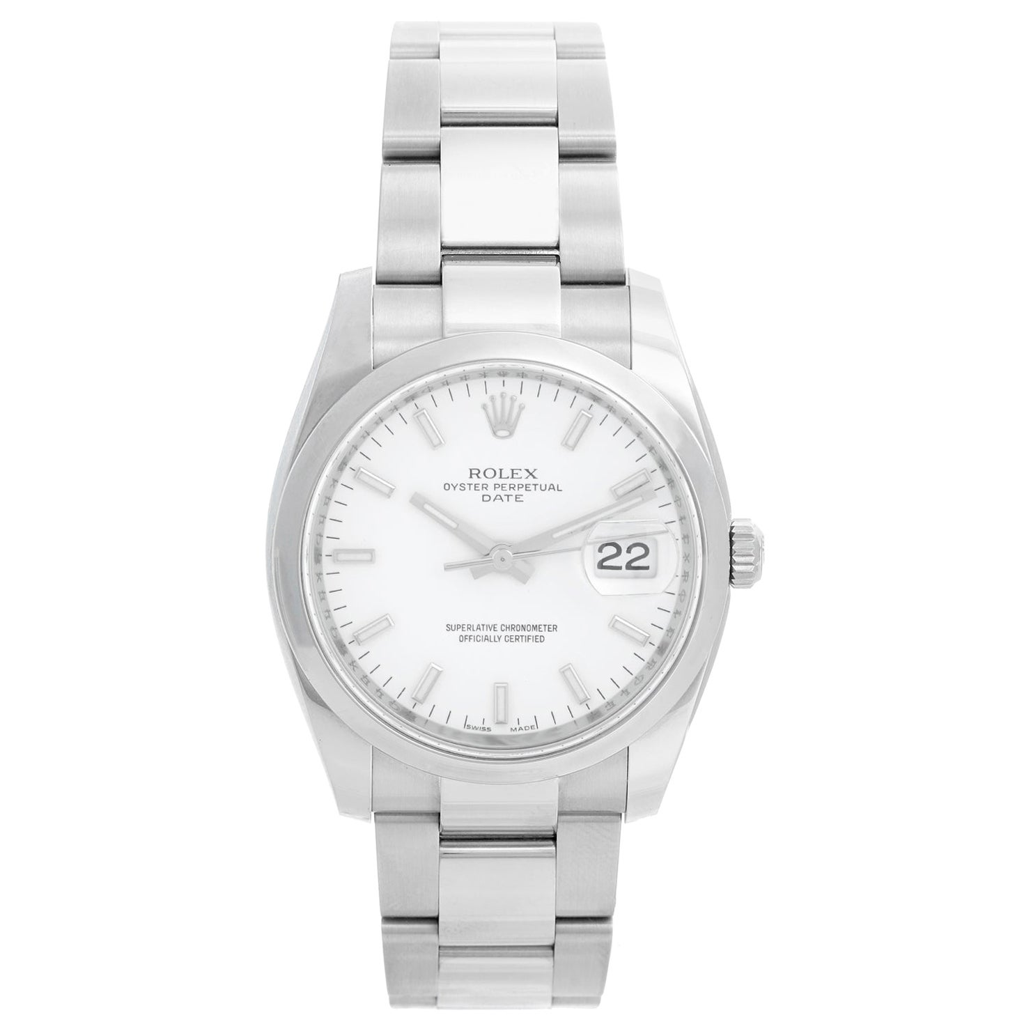 Rolex Date Oyster Perpetual Men's Watch 115200