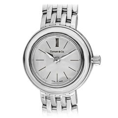 Tiffany & Co. Lady's White Gold Wristwatch