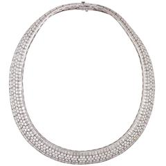Van Cleef & Arpels Diamond Flexible Necklace