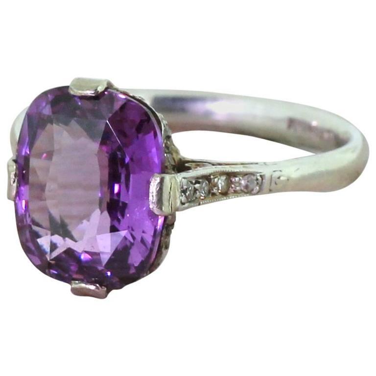 Carat Diamond Platinum Engagement Ring