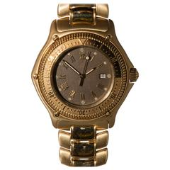 Ebel Yellow Gold Discovery Wristwatch